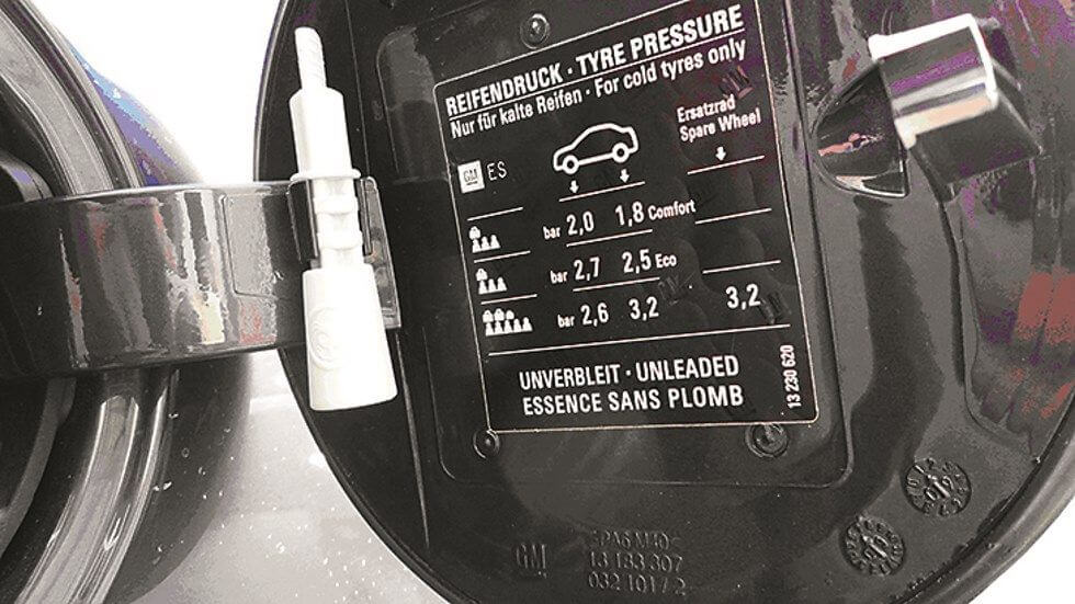 presion neumáticos