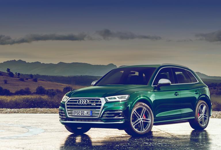 Audi Q5 background