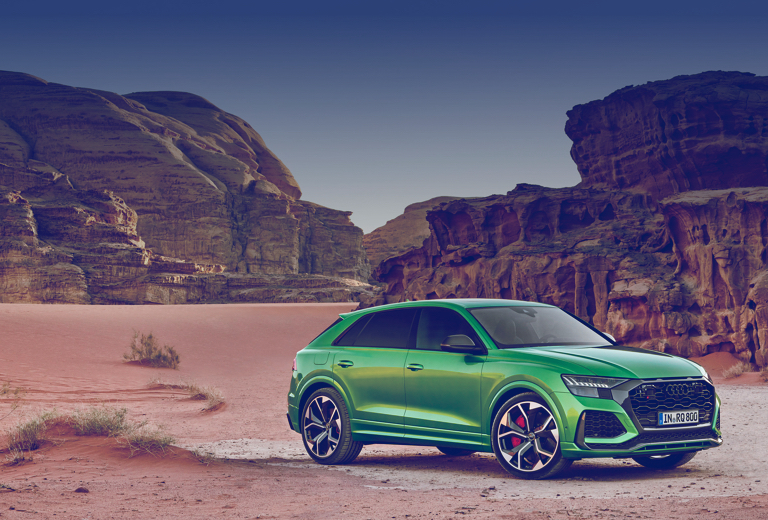 Audi Q8 background