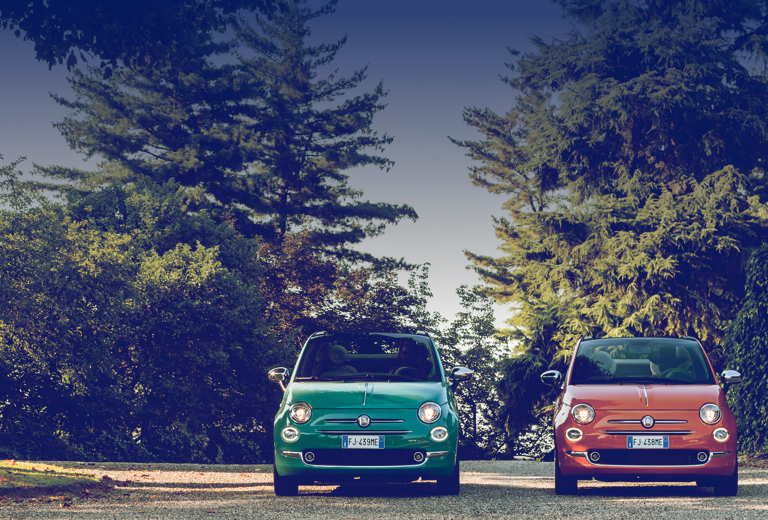 Fiat 500l background