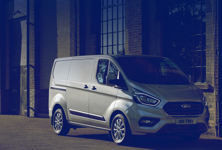 Ford Transit Custom background