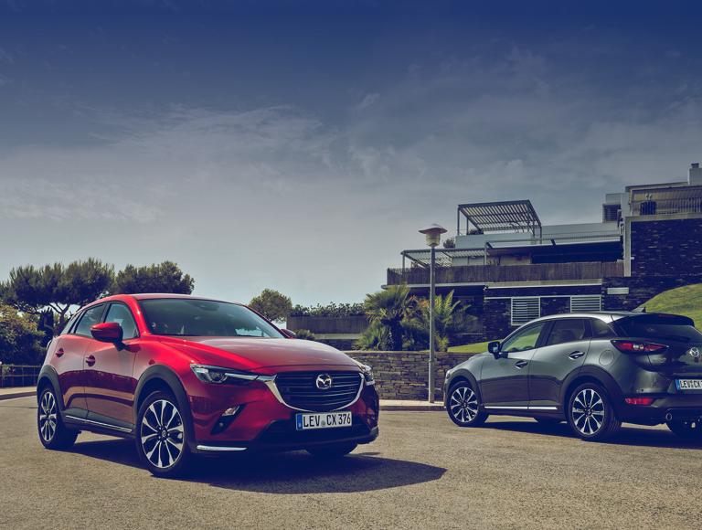 Mazda background