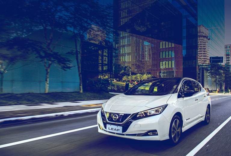 Nissan Leaf background