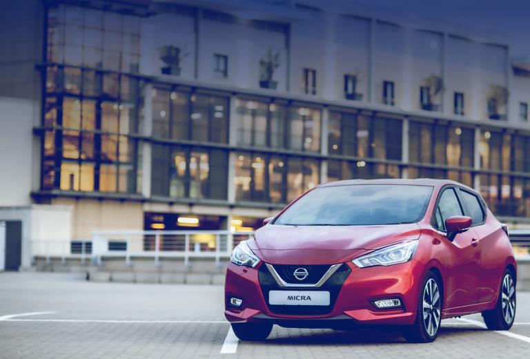 Nissan Micra background