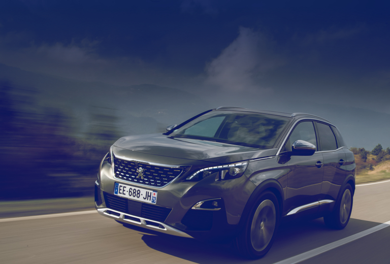 Peugeot 5008 background