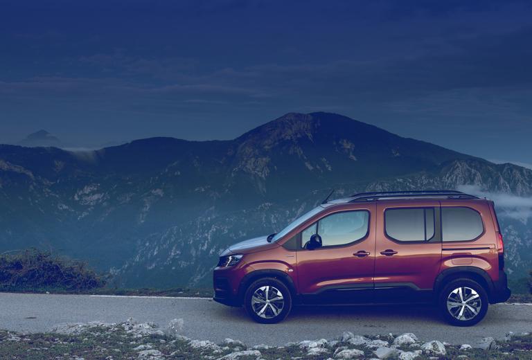 Peugeot Rifter background