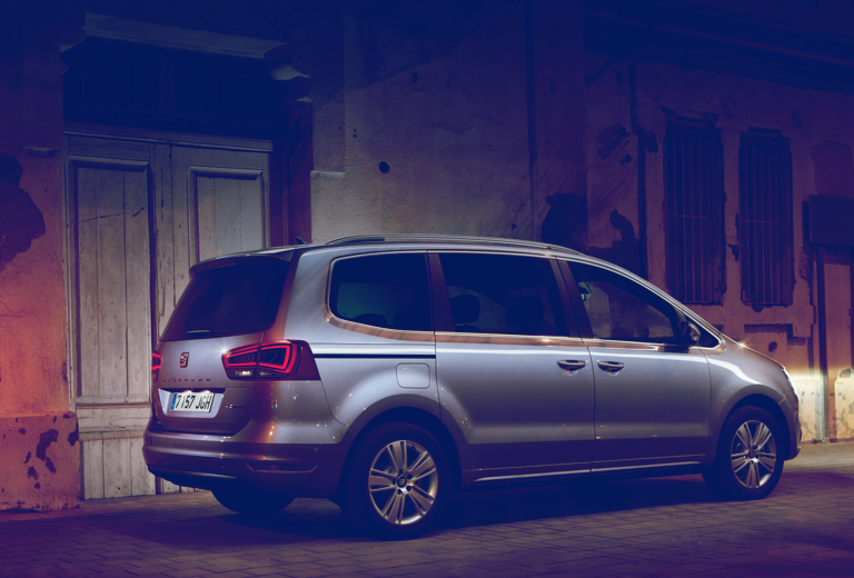 Seat Alhambra background
