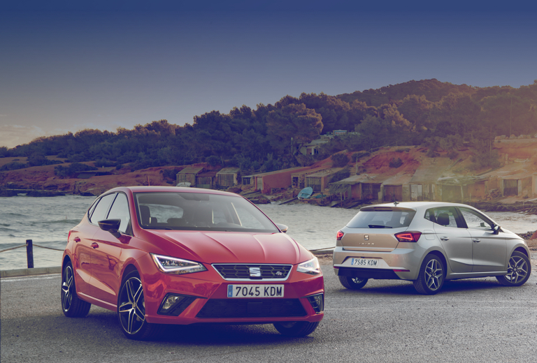 Seat Ibiza background