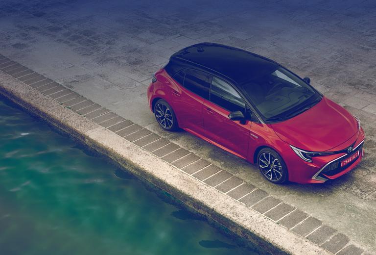 Toyota Corolla background