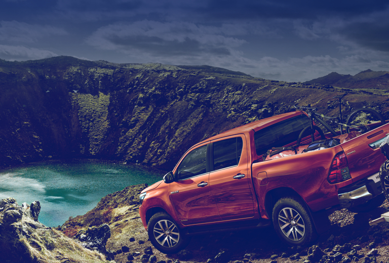 Toyota Hilux background