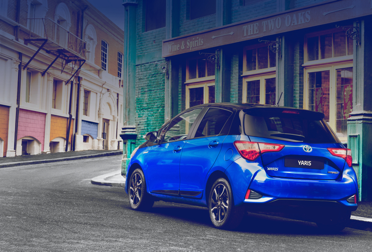 Toyota Yaris background