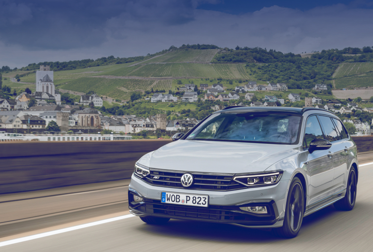 Volkswagen Passat background