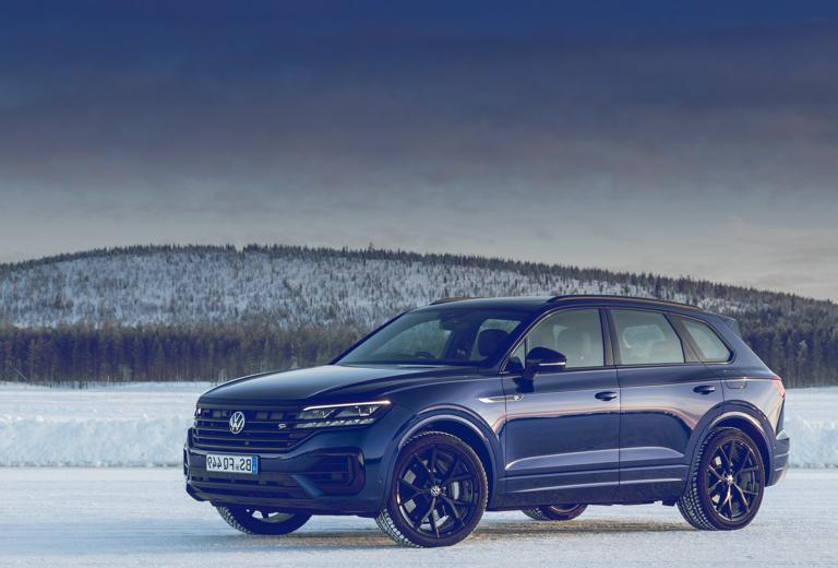 Volkswagen Touareg background