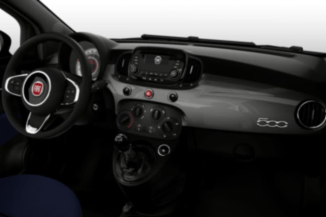 Fiat-500-Connect 1.0 Hybrid-interior