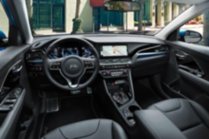 Kia-Niro-1.6 HEV Concept-interior