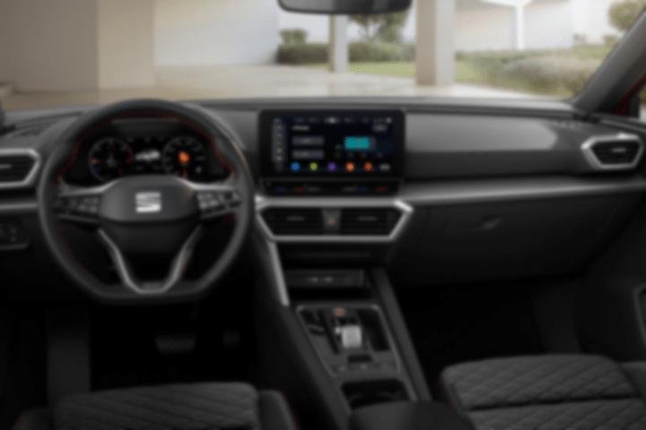 Seat-Leon-2.0 TDI Style Go-interior