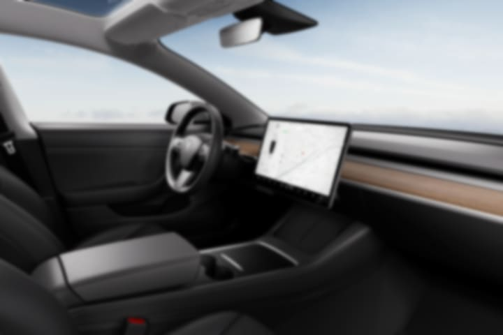 Tesla-Model 3-Gran Autonomía AWD-interior