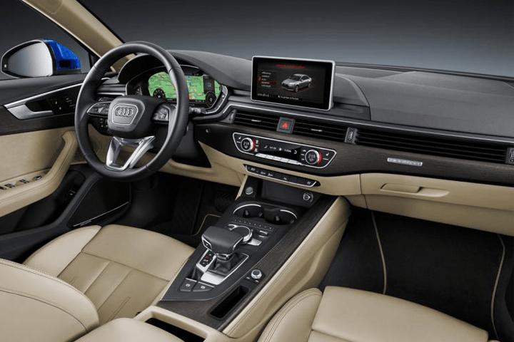 Audi-A4-2.0 TDI 150CV S tronic Advanced edition-interior