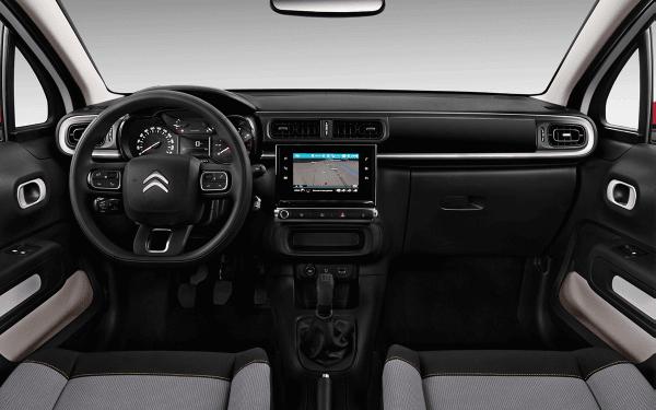 Citroen-C3-PureTech Feel-interior