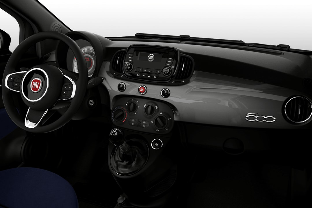 Fiat-500-Cult 1.0 Hibrido-interior