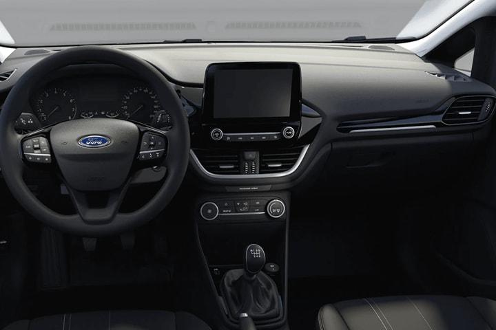 Ford-Fiesta-1.0 EcoBoost MHEV Trend-interior
