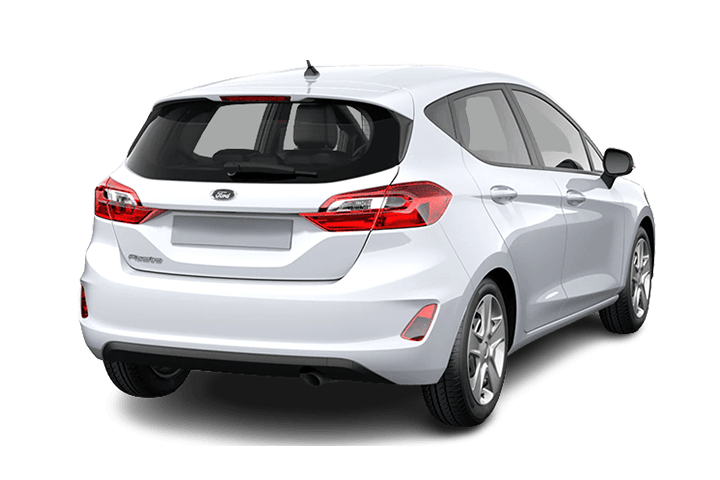 Ford-Fiesta-1.0 EcoBoost MHEV Trend-rear