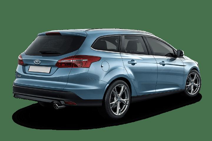 Ford-Focus-1.5 TDCI Trend+ Sportbreak-rear