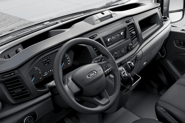Ford-Transit-Van L2H2 FWD 310N1 EcoBlue MHEV-interior