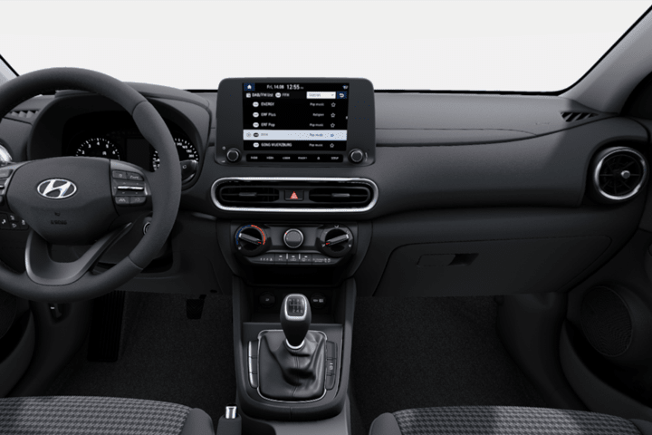 Hyundai-Kona-1.6 GDI HEV Klass DT-interior