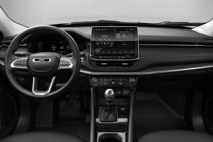 Jeep-Compass-1.6 Mjet Limited FWD-interior