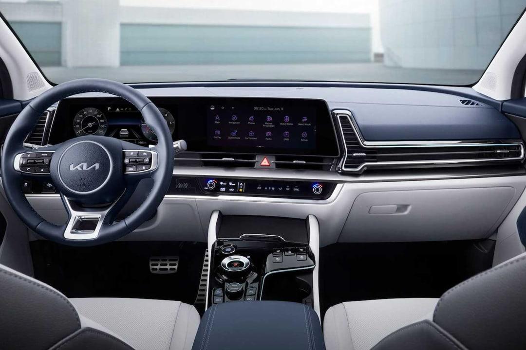 Kia-Sportage-1.6 MHEV Black Edition 4x2-interior