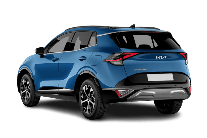 Kia-Sportage-1.6 MHEV Black Edition 4x2-rear