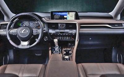 Lexus-RX-Business Plus-interior