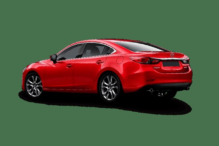Mazda-6-2.2 DE Luxury-rear
