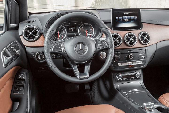 Mercedes-Clase B-B 200 d 4MATIC-interior