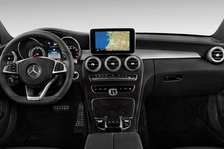 Mercedes-Clase C-C 220 d Sportive Avantgarde-interior