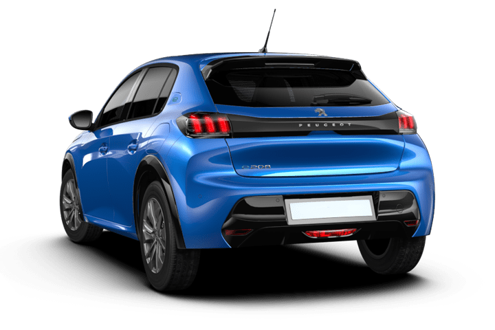 Peugeot-e-208-Electrico Allure-rear