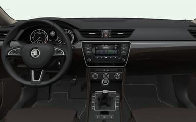 Skoda-Superb-2.0 TDI Ambition-interior