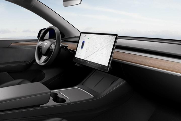 Tesla-Model Y-Gran Autonomía 4WD-interior