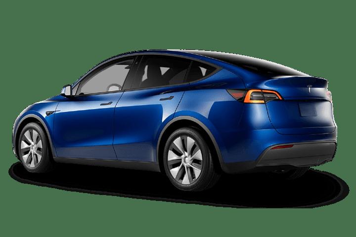 Tesla-Model Y-Gran Autonomía 4WD-rear