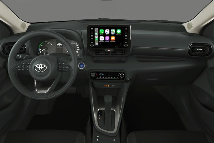 Toyota-Yaris-1.5 Hybrid-interior
