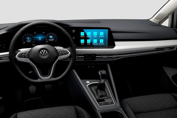 Volkswagen-Golf-Variant 1.0 Life eTSI-interior