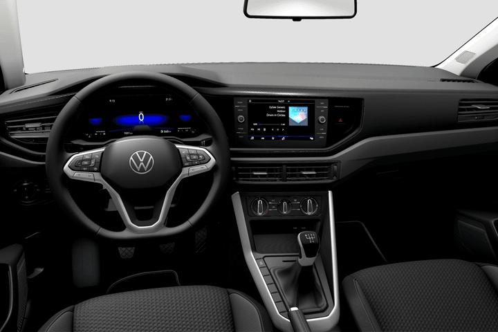 Volkswagen-Polo-1.0 TSI Life-interior