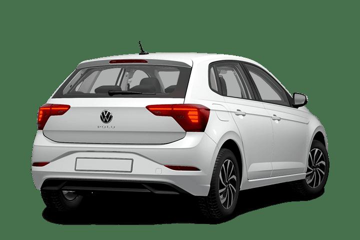 Volkswagen-Polo-1.0 TSI Life-rear