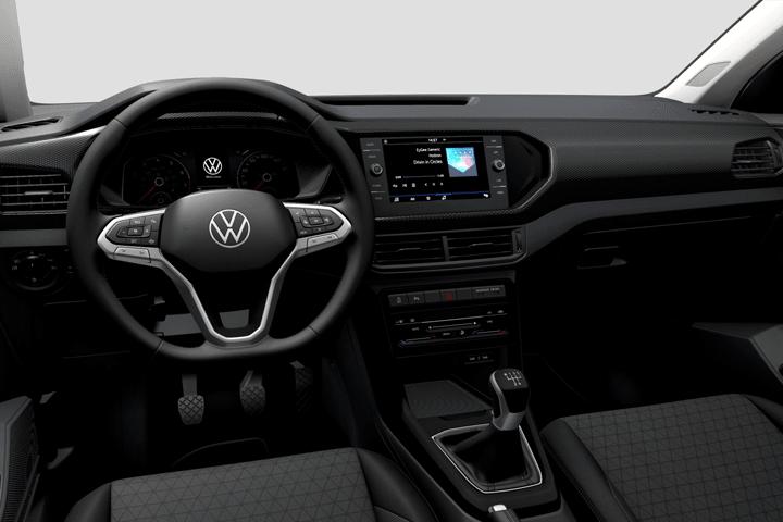 Volkswagen-T-Cross-Edition 1.0 TSI-interior
