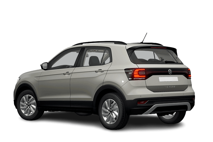 Volkswagen-T-Cross-Edition 1.0 TSI-rear