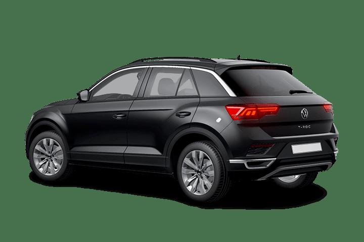 Volkswagen-T-Roc-1.0 TSI Style-rear