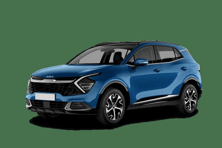 Renting Kia Sportage 1.6 MHEV Black Edition 4x2