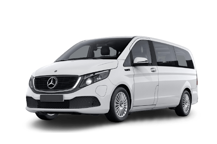 Renting Mercedes EQV 300 Larga e100