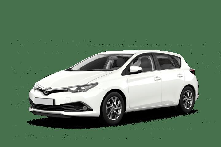 Renting Toyota Auris 1.8 140H Hybrid Advance